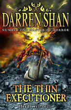 NEW FIRST EDITION  the THIN EXECUTIONER by DARREN SHAN  HARDBACK