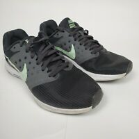 Nike Womens Downshifter 7 Size 7.5 Running Shoes 852466-003 Gray Mint White