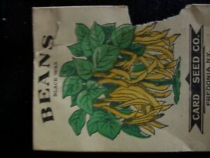 Old vintage Seed packets NY