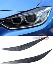 Real Carbon Fiber Eyelid 1pair For BMW F32 F36 F80 M3 F82 F83 M4 2014UP B373E