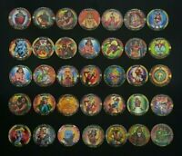 "collection of 35 Rare israeli pogs from the 90's- ""Empire"" brand  Epic & Fantasy"