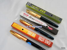 Set of 3 X Vintage Shanghai China Hero Fountain Pens 1 Each Pen 336 330 332 OG