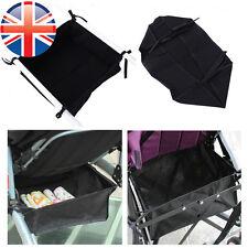 *uk Seller* Universal Under Net Bag for Baby Buggy Stroller Pram Shopping Basket