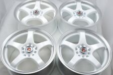 16 white Wheels Rims Accord Civic CT200H Forte5 Optima Sonata Soul 5x100 5x114.3