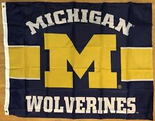 Michigan Wolverines Football Ncaa 3x4 Banner Flag Dorm Tailgate Free Shipping