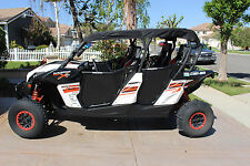 New 2014 CAN AM MAVERICK MAX COMMANDER MAX 1000 BLACK UTV SOFT TOP ROOF COVER C4