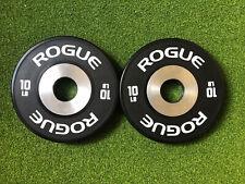 Rogue Fitness Dumbbell Bumper Plates 10lb Each (20lbs Total)