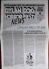 Dylan Dog - Horror Fest news del 1992