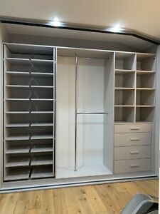 Bespoke Design Fully Fitted Wardrobes With Sliding Doors - Bedrooms Office Loft