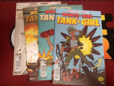 World War Tank Girl (Titan 2017) #1-4 Set (1,2,3,4) Alan Martin Brett Parson