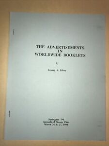 Booklets reference. Lifsey. THE ADVERTISEMENTS IN WORLDWIDE BOOKLETS. 1994