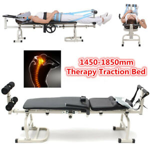 Heavy Duty Massage Table Therapy Bed Cervical Spine Lumbar Traction  UK!