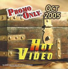 PROMO ONLY- New, DVD HOT VIDEO OCT.-2005,Coldplay,Backstreet Boys,Will Smith