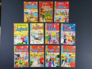 Lot of (11) Jughead & Reggie (1963-75) Archie Comics MoreListed