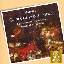 Handel: Concerti Grossi Op 3, New Music