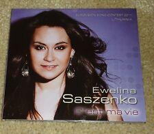Eurovision Song Contest 2011 Lithuania Ewelina Saszenko C'est ma vie promo CD