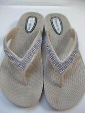 Size UK 7 41 Ladies HEAVENLY FEET SANDALS MULES slides diamante toe posts thongs