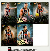 AFL Trading Card MILESTONES SUBSET MASTER TEAM SET-COLLINGWOOD-2018 Footy Stars