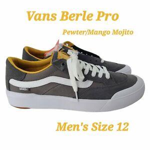 Vans Style 112 Pro Pewter Mango Mojito Size US 12 Men New Skate Sneakers