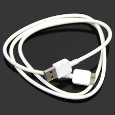 Samsung Galaxy Note 3 III N9000 S5 Micro USB 3.0 White Data Charger Cable NEW