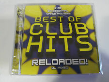 BEST OF CLUB HITS RELOADED! DJ MIXED DANCE ANTHEMS - 2 X CD NEW SEALED NUEVO