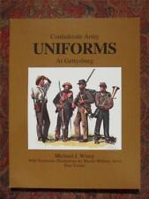 CONFEDERATE ARMY UNIFORMS AT GETTYSBURG - CIVIL WAR - BRAND NEW - ILLUSTRATED
