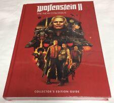 Wolfenstein II 2 Colossus Prima Collector's Edition Prima Guide Book Sealed