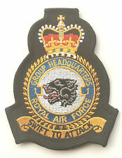No.1 Squadron RAF Royal Air Force Group Headquarters Military Embroidered Patch