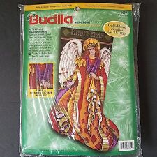 Bucilla Heavenly Angel Christmas Stocking Needlepoint Kit 60771 Vintage Baatz