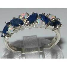 Heating Sapphire Eternity Fine Rings