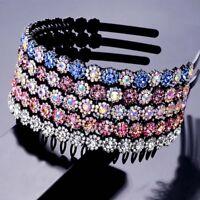 Women's Crystal Headband Hairband Hair Hoop Accessories Bridal  Wedding Tiara