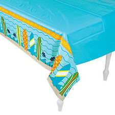 BEACH PARTY Surfs Up Surf Board Table Cover Tablecloth 137 x 274cm  Free Postage