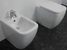 Sanitari a terra filo muro parete copri wc rallentato wc vaso bidet pavimento