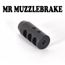 22cal .223 Muzzle brake 1/2x28 , Mossberg Savage Howa Ruger Rifle gun