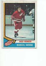 MARCEL DIONNE 1974-75 Topps Hockey card #72 Detroit Red Wings EX+