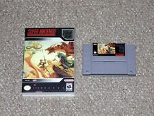 Ys III: Wanderers From Ys Super Nintendo SNES with Reproduction Case