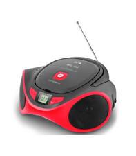 Spc Radiocd 4501r boombox USB 4w rojo