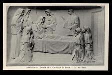 antica cartolina S.MARIA CROCIFISSA DI ROSA