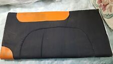 3 -Canvas Cut Felt Padded Western Saddle Pads- Several colors available