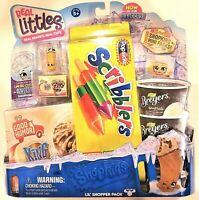 Shopkins REAL LITTLES Shopper Pack 8 Shopkins + 8 Mini Packs Rare King Cone