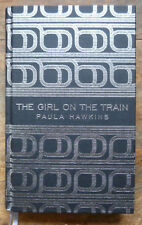 Paula Hawkins The Girl on the Train Deluxe First Hardback Edition 2015