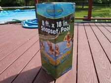 Sand N Sun Snapset Pool Ages 3 andup Ready to Fill 565 Gallon Capacity