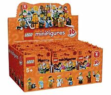 New Factory Sealed LEGO 8804 Box/Case of 60 Minifigures Series 4