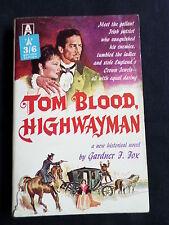 TOM BLOOD HIGHWAYMAN  - GARDNER J. FOX  -  VINTAGE AVON P/BACK  USA - 1962