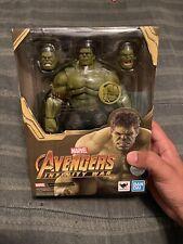 Tamashii Nations S.H.Figuarts Hulk (Avengers: Infinity War) Action Figure USED