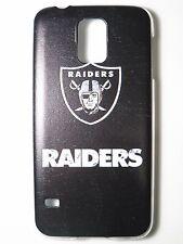 NFL Oakland Raiders Logo Samsung Galaxy S5 G900 Plastic One-Piece Slim Case