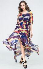 Polyester Kaftan Multi-Colored Dresses for Women