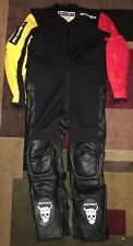 Rare ArcticBoyz Leather Kevlar downhill Street race Suit Longboard