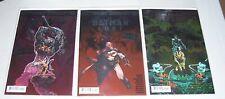 Set of 3 Dark Nights Metal Comics! Hawkman Found! Batman Lost! The Wild Hunt! NM