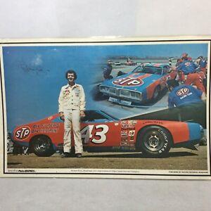 Vintage Richard Petty #43 Champion Placemat Poster 1983 Nascar STP 17 x 11